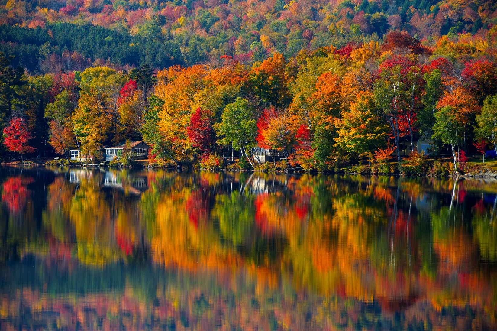 Lake Elmore Reflections